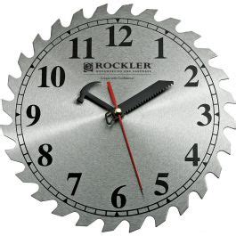 blade shop clock rockler woodworking tools