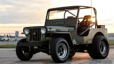 willys jeep lsx supercharged 1952 lsx willys jeep with nitrous