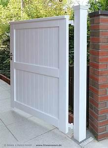 Gartentüren Aus Holz : blickdichte sichtschutztore hartholz nach ma ~ Michelbontemps.com Haus und Dekorationen