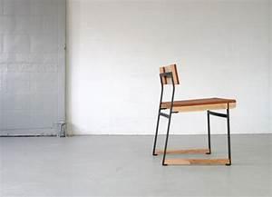 Chaise deco en bois et metal for Deco cuisine avec chaise en bois design