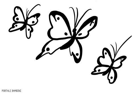 disegni da colorare stare e ritagliare sagome di farfalle da colorare e ritagliare per bambini