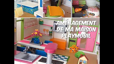 Aménagement De Ma Maison Moderne Playmobil 🏡 Youtube