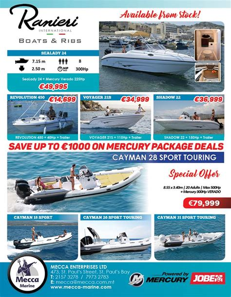 Ranieri Boats Malta by Ranieri International Boats Ribs Malta Powered By