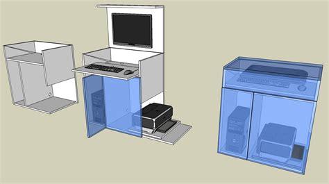 meuble bureau fly meuble ordinateur fly gallery of conforama prestige but