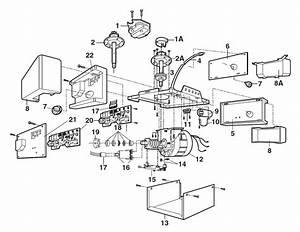 32 Liftmaster Garage Door Opener Parts Diagram