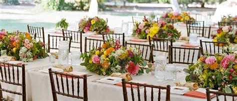 event rentals in orange county rental and wedding