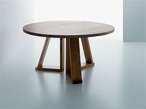 round solid wood coffee table solid by miniforms design With solid oak round coffee table