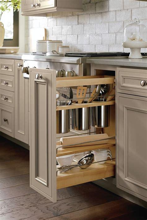 utensil pantry pull  cabinet  knife block decora
