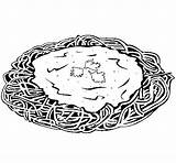 Spaghetti Coloring Cheese Colored Df Pasta Coloringcrew Colorear Bread sketch template