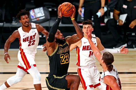 LeBron James, Davis power Lakers to 2-0 lead over Heat