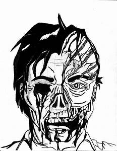 Scary Zombie Coloring Pages - Coloring Home