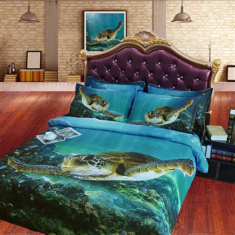 Turtle Bed Set by Sea Turtle Bedding Promotion Shop For Promotional Sea