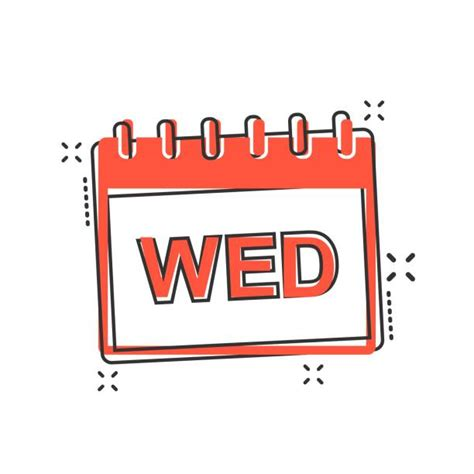 Wednesday Illustrations Royalty Free Vector Graphics