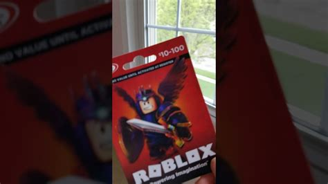 roblox card give  mystery dollar amount youtube