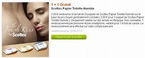 Papier Toilette Humide : papier toilette humide scottex 1 1 gratuit avec myshopi ~ Melissatoandfro.com Idées de Décoration