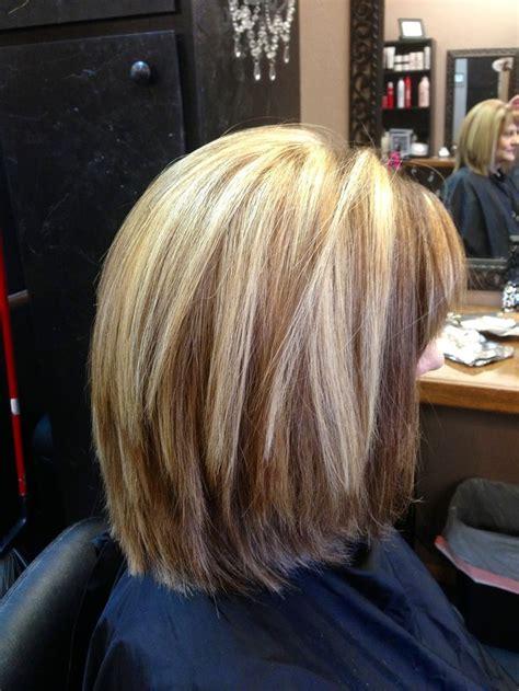 layered long bob beauty pinterest bobs highlights