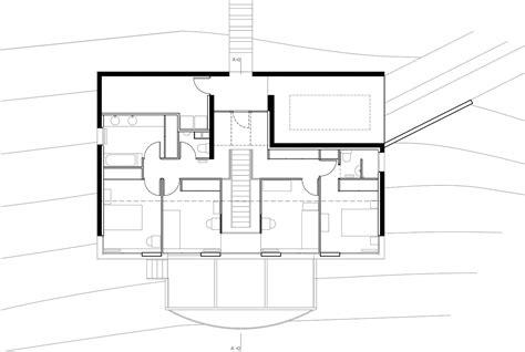le suspendue cuisine une maison construite dans la pente architecture aveyron