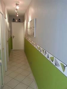 Peindre Couloir Deux Couleurs : d co maison peinture couloir exemples d 39 am nagements ~ Preciouscoupons.com Idées de Décoration