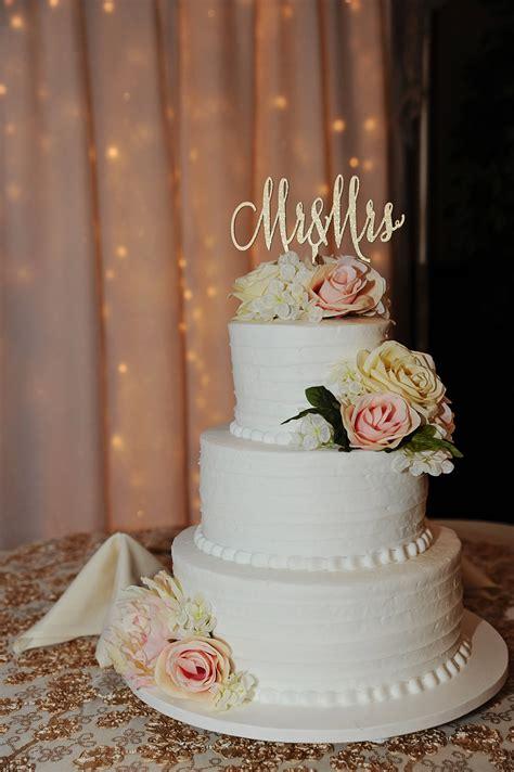 Mr And Mrs Cake Topper Wedding Cake Topper Gold Cake