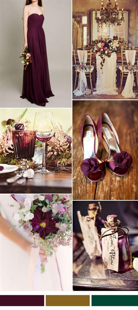 hot wedding color combination ideas