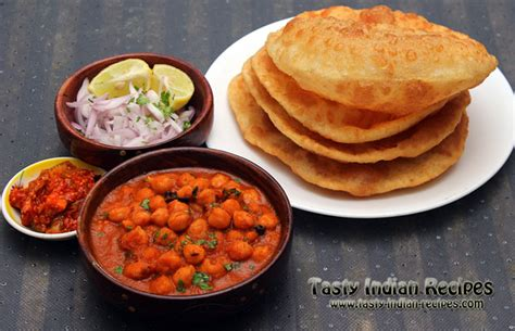 Chole bhature is popular in north india. Chole Bhature Recipe   Step by Step Chole Bhature Recipe