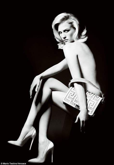 Mad Men Star January Jones Loses Her Inhibitions For Nude Ad Campaign Daily Mail Online