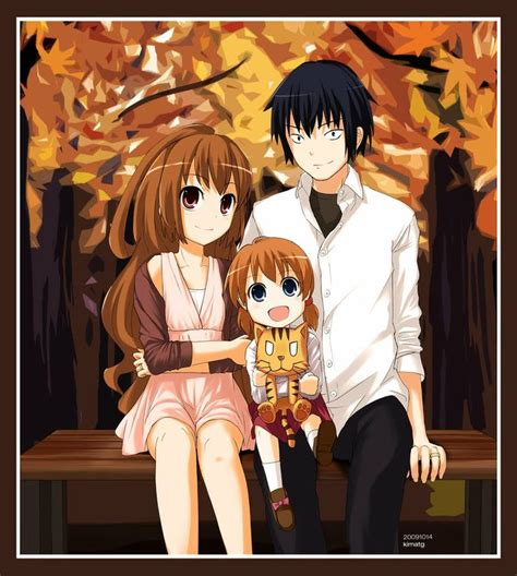 Anime Family Wallpaper - toradora taiga advertisements toradora