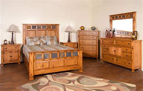 rustic bedroom set rusrtic oak bedroom furniture set