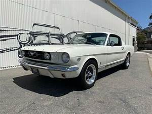 Classic cars for sale: Used 1966 Ford Mustang White
