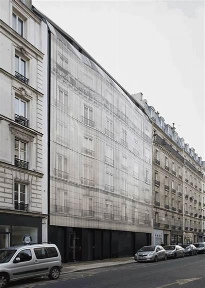 Haussmann Building Paris Architecture Facade Parisian Haussmannian