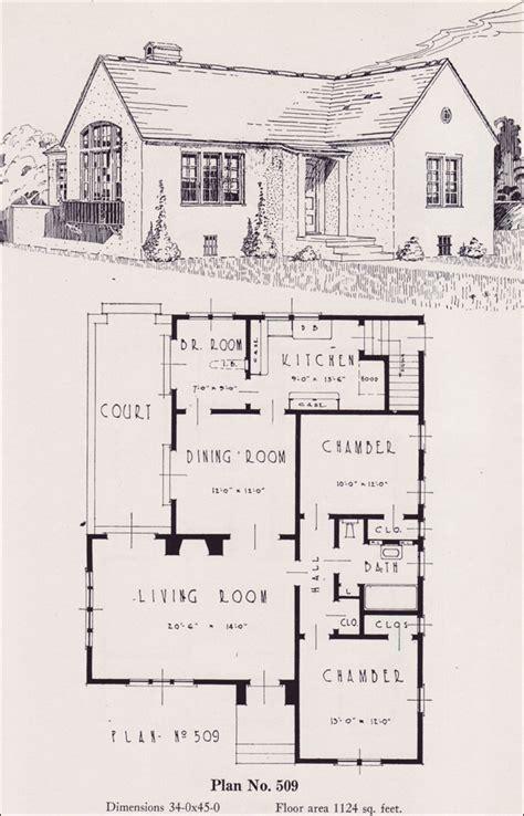 antique spanish house plans eclectic mediterranean cottage style plan 1926 universal plan service no 509 portland