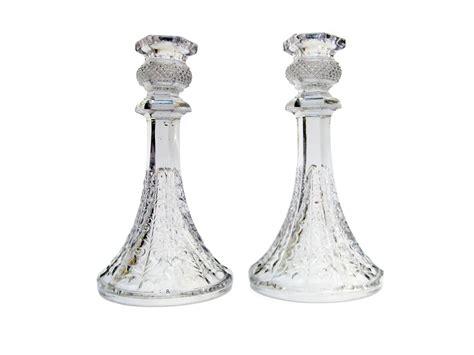 candelieri in cristallo coppia di candelieri in cristallo degli inizi 1900
