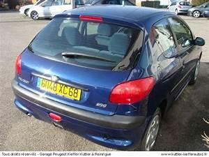 Garantie Premium Peugeot Occasion : peugeot 206 1 4 l xt premium 2000 occasion auto peugeot 206 ~ Medecine-chirurgie-esthetiques.com Avis de Voitures