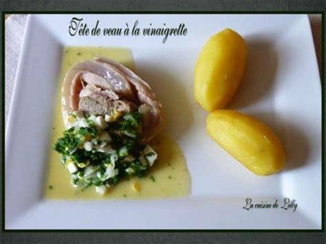 cuisine tete de veau recettes de tête de veau et vinaigrette