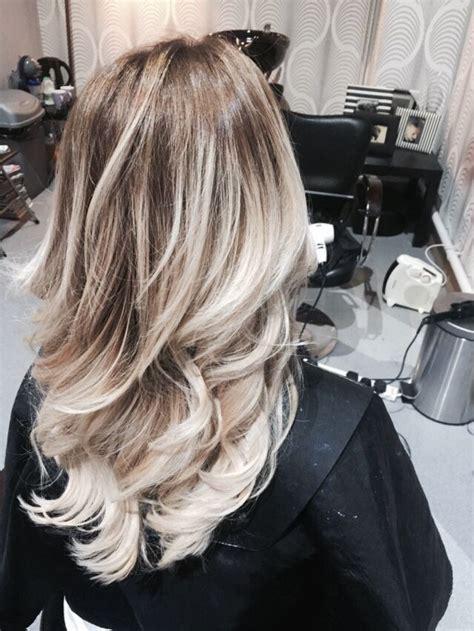 Ash Blonde White Ombre Sista Hair Ombre Hair Blonde Hair