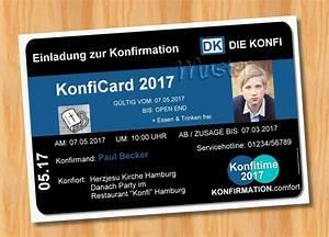 Witzige Einladungskarten Konfirmation