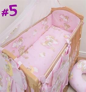 Bettwäsche Set Baby : 5 st ck baby bettw sche set kinderzimmer gitterbett kinderbett lang rundum ebay ~ Markanthonyermac.com Haus und Dekorationen