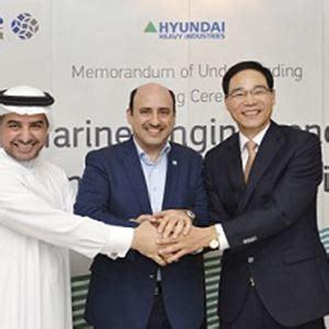 hyundai heavy industries  manufacture pumps  saudi