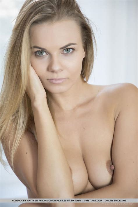Blonde Babe Nordica Strips Out Of Her Bra And Panties In Eccina Coed Cherry