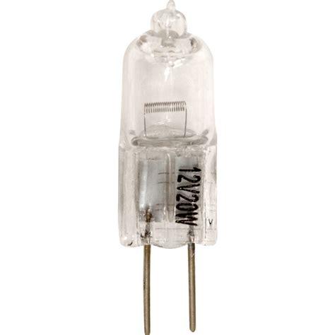 12v halogen capsule l 20w g4 300lm toolstation