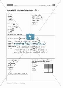 Radius Mit Umfang Berechnen : lerntheke zur berechnung von kreisteilen fl che umfang radius und winkel von kreisteilen ~ Themetempest.com Abrechnung