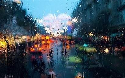 4k Rain Background