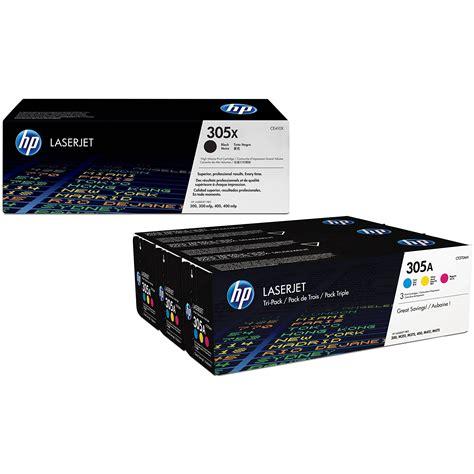hp lj300 400 color mfp m375 m475 original hp 305x 305a cmyk multipack toner cartridges