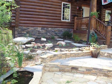 cabin landscaping ideas pin by reta caravantes on cabin fever pinterest
