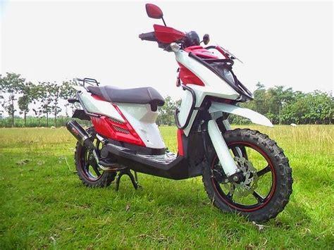 Yamaha X Ride Modifikasi by Modifikasi Motor Yamaha X Ride Touring Curan Otomotif