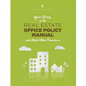 Real Estate Office Policy Manual