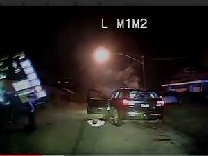 Police Dash-Cam Video Shows Shots Fired at Officers in ...