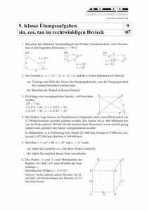 Kreiszylinder Berechnen : sinus kosinus tangens im dreieck bungen und aufgaben mit l sungen schulminator ~ Themetempest.com Abrechnung