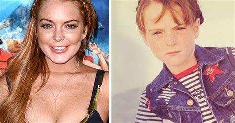 Lindsay Lohan twitter: shares childhood pictures on ...