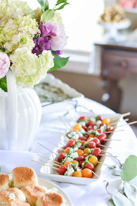 food ideas for bridal shower ideas to throw an indoor garden bridal shower